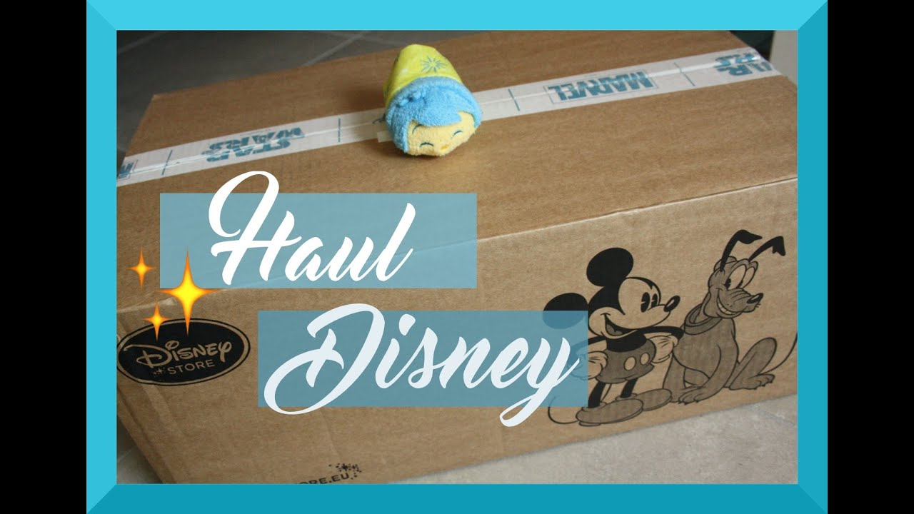 haul achats disney store japonais fran ais youtube. Black Bedroom Furniture Sets. Home Design Ideas