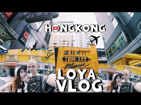 LOYA VLOG#7 | Music store TOM LEE HongKong ♡. Fender shop.Guitar  Comparison.