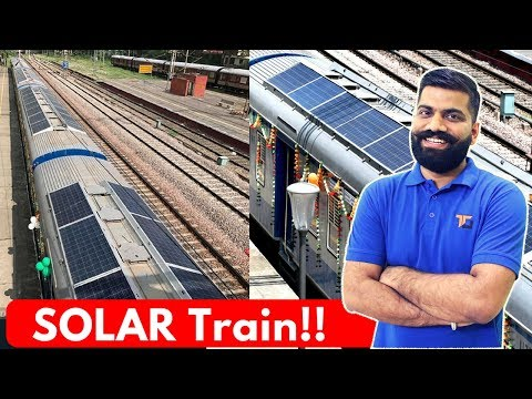 Solar Train in India 🚂 - DEMU System Explained!!