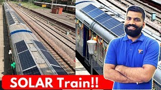 Solar Train in India 🚂 - DEMU System Explained!!