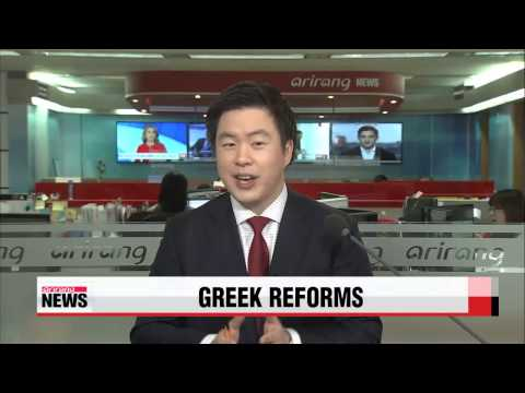 Greece submits economic reform plan to eurozone partners   그리스, EU 등 국재채권단에 경제개혁