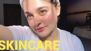 SKINCARE x FACIAL | All Skin Types | Get Rid of Dry Patches & Dead Skin Built Up | Farah Haris