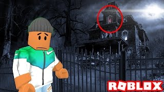 ESCAPE THE HAUNTED HOUSE IN ROBLOX