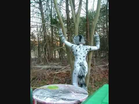 Cosplaying Around - Cats Unitard Painting