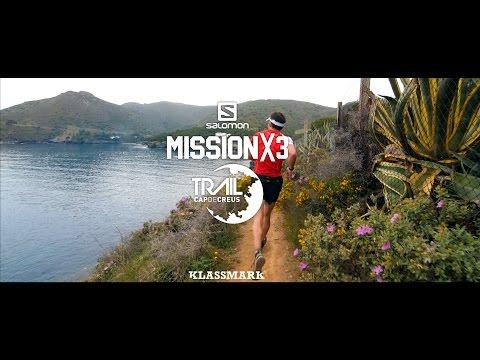 Salomon MISSIONX3 - TRAIL CAP DE CREUS 2015