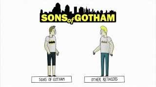 Thousands of Pop Culture T-Shirts at SonsOfGotham.com