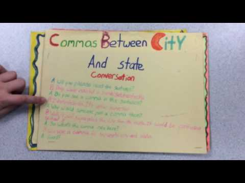 52. Commas Between City and State