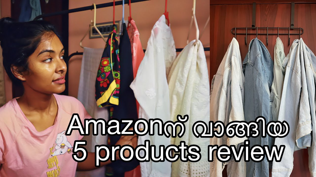 5 best reviewed products from amazon Cloth organisers Skincare Worth or not? Asvi Malayalam