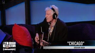 "Graham Nash ""Chicago"" on the Stern Show (2013)"
