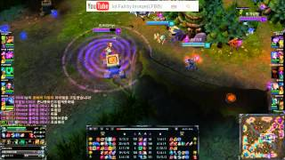Although i'm Bronze Player ,sometime i get a kill XD 베인낚임? (league of legends) thumbnail