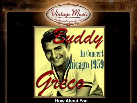 BUDDY GRECO CD Vintage Vocal Jazz. Concert Chicago 1959 , How About You , Misty