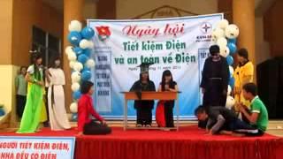 Tiểu phẩm dự thi Ngày hội tiết kiệm điện của trường THPT Nguyễn Thông (full)