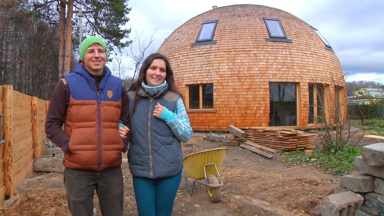 Строительство круглых домов своими руками