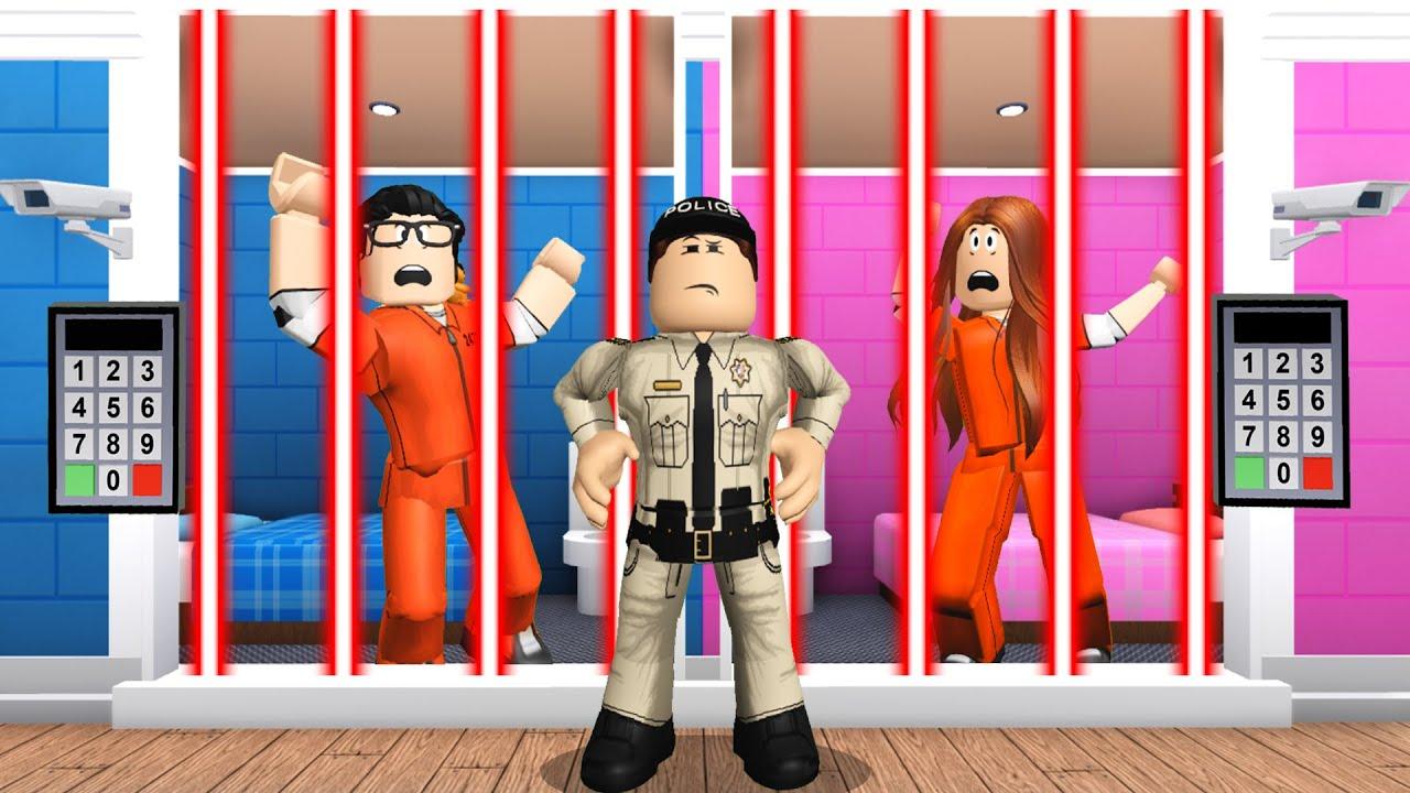 We Got LOCKED UP In MAXIMUM SECURITY Prison! (Roblox Bloxburg)