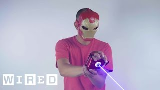 This Real-Life Iron Man Glove Can Do Some Damage | WIRED
