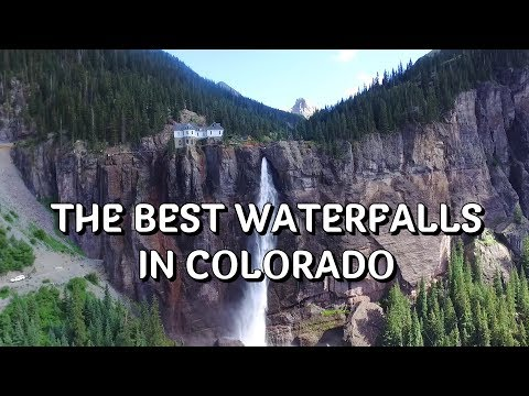 The most beautiful waterfalls  in Colorado (the best of Colorado)