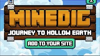 Minedig Journey to Hollow Earth Walkthrough and Ending