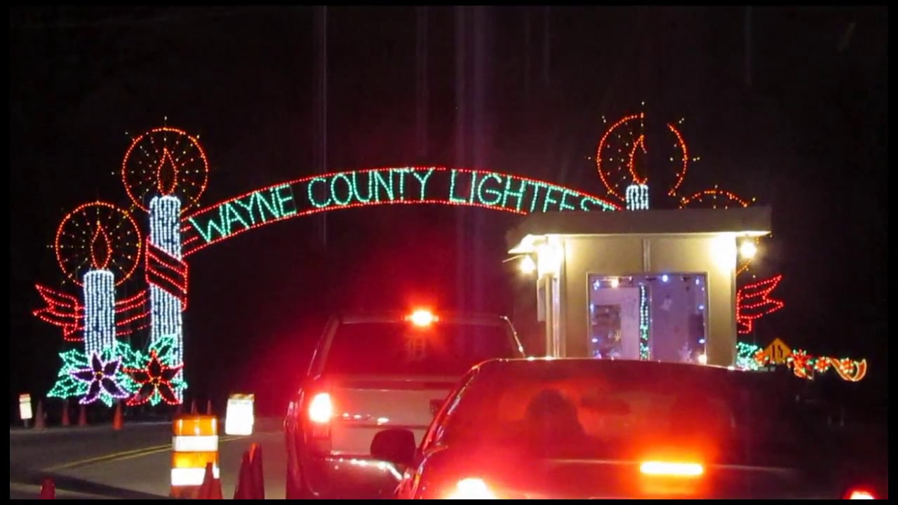 Wayne County Light Fest (Hines Park) - YouTube