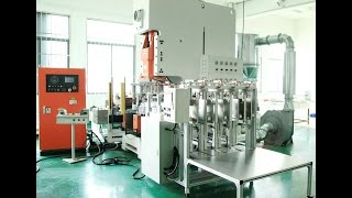 Fully Automatic Aluminium Foil Container Making Machine LK-T63 From LIKEE