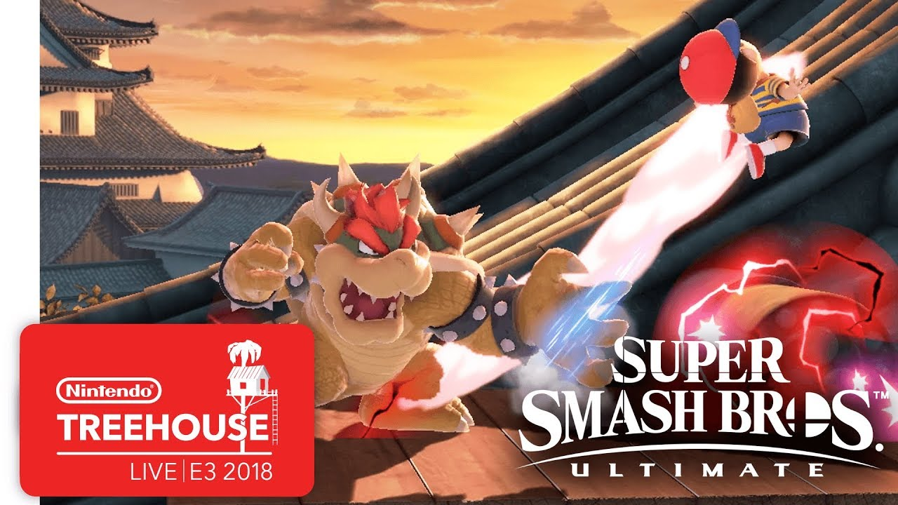 Super Smash Bros. Ultimate Gameplay Pt. 4 - Nintendo Treehouse: Live | E3 2018