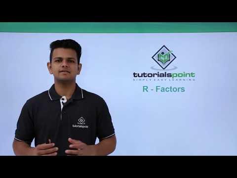 R Programming - Factors