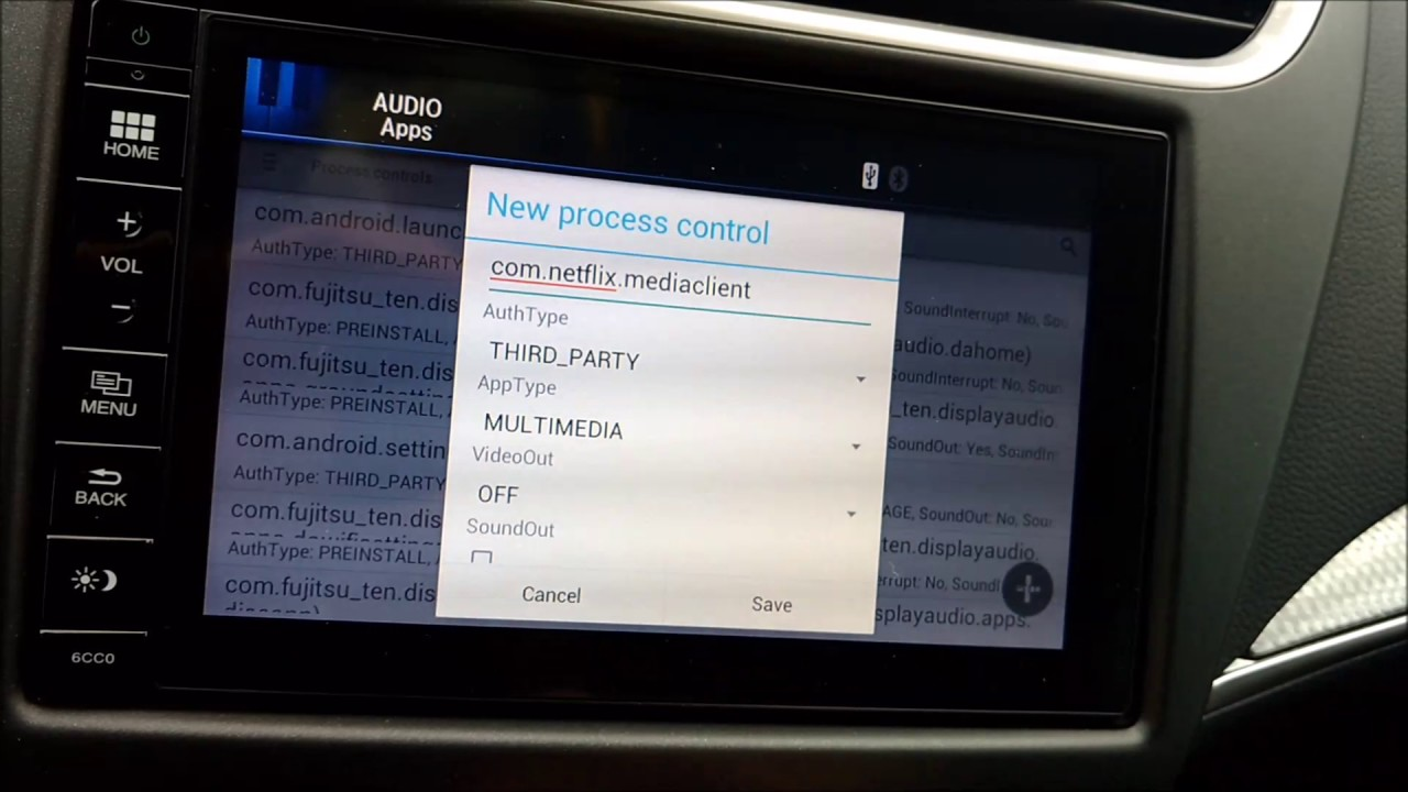 Honda Connect System Apps Installation