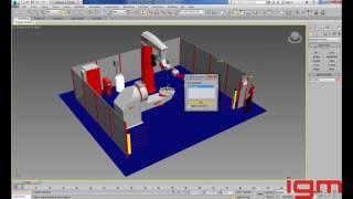 igm PV offline training video 02 Add workpiece to scene