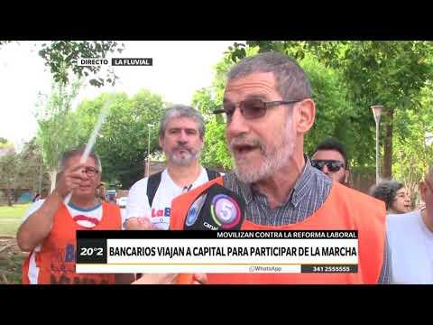 CANAL 5 ROSARIO – ROSARIO DIRECTO – BANCARIOS VIAJAN A CAPITAL