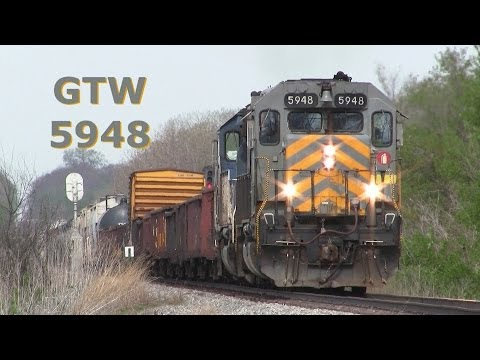 GTW 5948 East - Grand Trunk Western on 5-10-2014