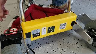 TravelScoot Battery Installation