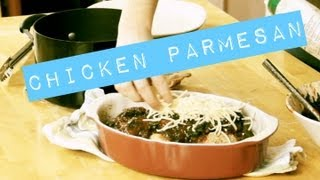 How To Make Chicken Parmesan | New Recipe To Me | Easy College Meals | Nrtm