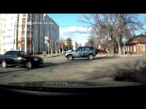 Тамбов, авария на ул. К.Маркаса - Энгельса, 26 апреля 2013г.