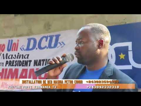INSTALLATION DCU MASINA PETRO CONGO