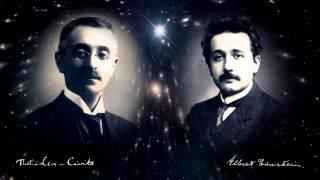 Albert Einstein y Tullio LeviCivita