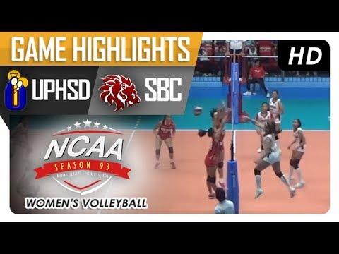 NCAA 93 WV: SBC vs. UPH   Game Highlights   January 11, 2018