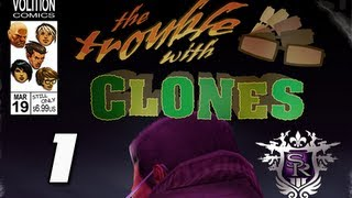 Saints Row 3 the Third Walkthrough - The Trouble with Clones DLC Part 1 PS3 XBOX 360 PC
