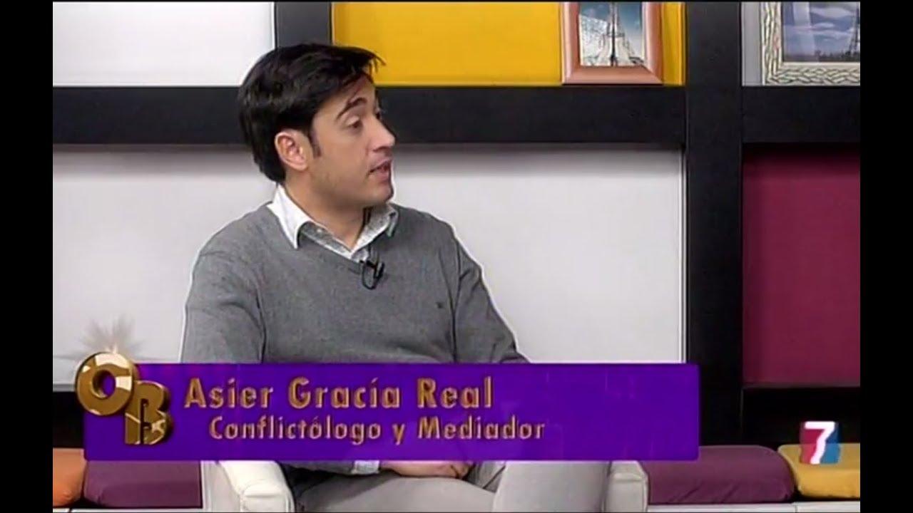 Asier García presenta la mediación como fórmula de resolución de conflictos