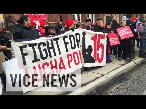 Raw Coverage From The Chicago Teachers Strike