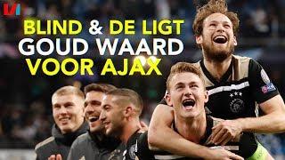 Ajax op Rapport: Verdedigingsduo De Ligt/Blind Zó Belangrijk: een 8 en een 7,5!