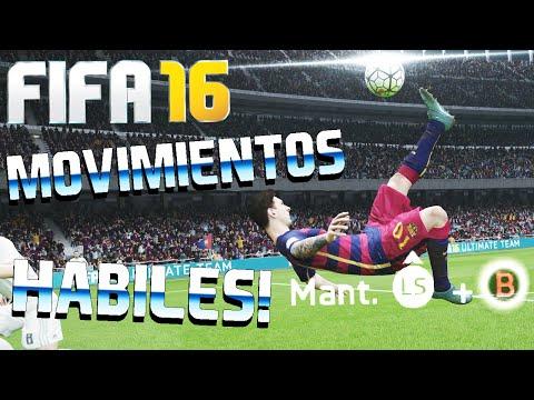 FIFA 16 - TODOS LOS MOVIMIENTOS HÁBILES Y TRUCOS | TUTORIAL
