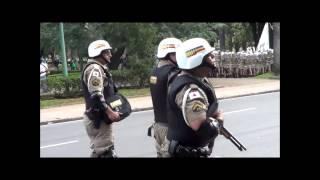 Protesto popular contra a copa em Belo Horizonte 12/06/2014