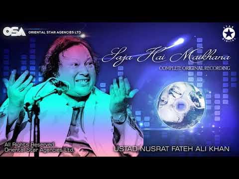 Saja Hai Maikhana   Ustad Nusrat Fateh Ali Khan   OSA official HD video   OSA Worldwide