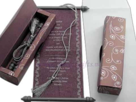 Timelessgifts-  wedding Invitations, wedding Cards,  scroll cards,
