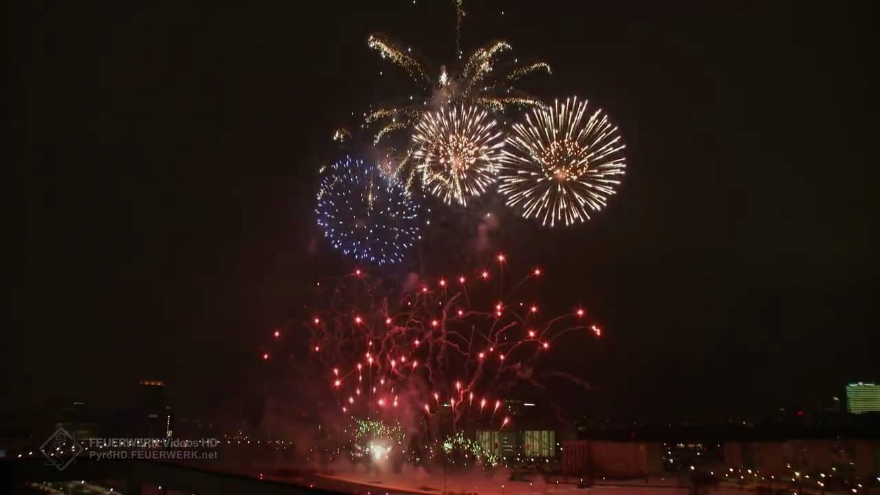 HD | Chinesisches Neujahr 2010 - Berlin Hbf [Feuerwerk ...