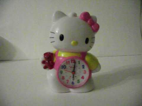 Hello Kitty Musical Clock Doovi