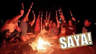 FIRST TIME MAG BONFIRE SA TABI NG DAGAT (ANG SARAP LANG!!) | LC VLOGS #247