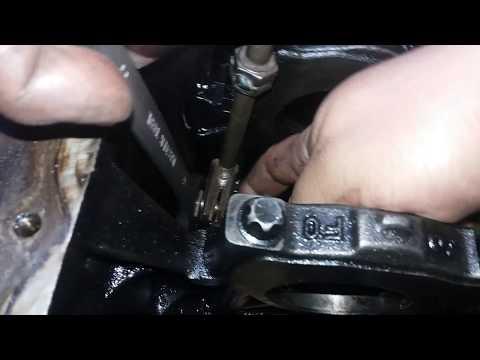 Как снять масляные форсунки рено