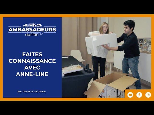 Découvrez nos Ambassadeurs de marque Defitec : Anne-Line - Episode 2/3