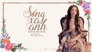 Sống Xa Anh Chẳng Dễ Dàng - Bảo Anh Guitar Cover Boy「 Lyrics Video 」Cẩm Tú Cầu