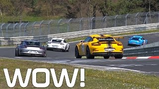 NURBURGRING is Porsche 911 GT3 RS HEAVEN!
